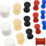 Solid Silicone Retainer Plugs Details