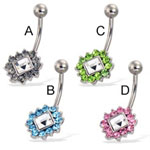 belly ring Details